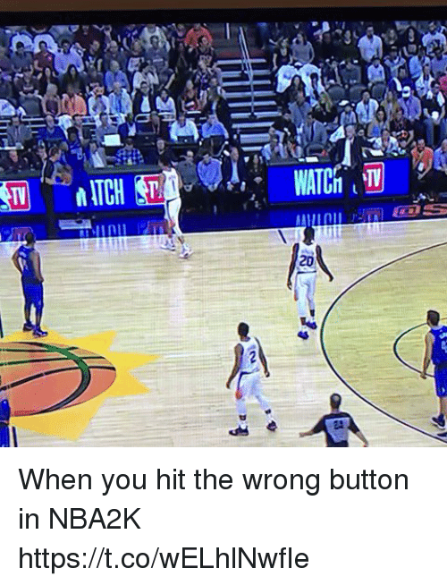 Sports, You, and When You: When you hit the wrong button in NBA2K https://t.co/wELhlNwfIe