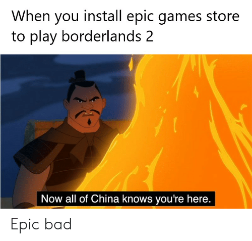 When You Install Epic Games Store to Play Borderlands 2 Now