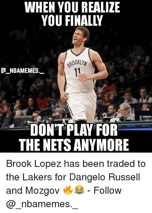 dbc3aec171f 🦅 25+ Best Memes About Brook Lopez