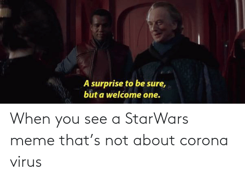 starwars: When you see a StarWars meme that's not about corona virus
