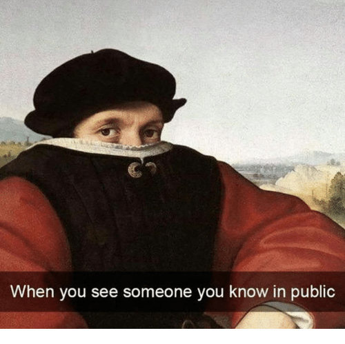 Public, You, and When You: When you see someone you know in public