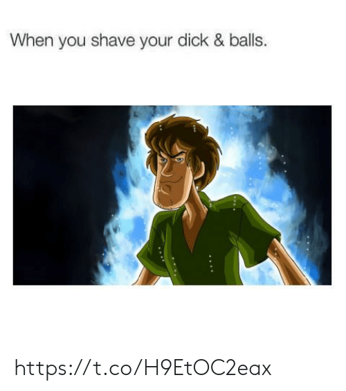 Dick, You, and When You: When you shave your dick & balls. https://t.co/H9EtOC2eax
