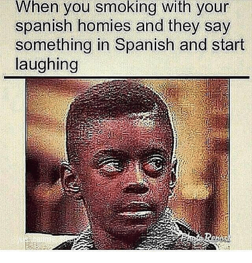Can i say something in spanish