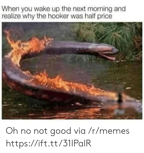 Hookers, Memes, and Good: When you wake up the next morning and  realize why the hooker was half price Oh no not good via /r/memes https://ift.tt/31IPalR