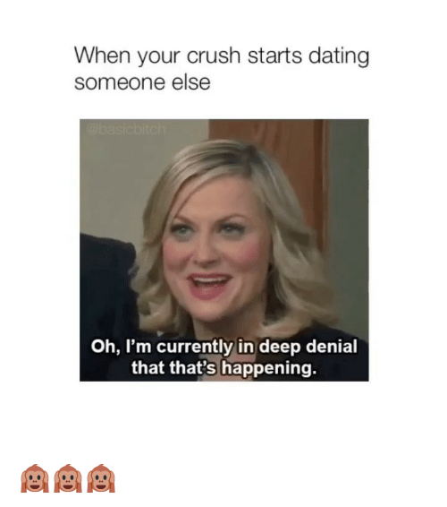 what to do when your crush starts dating someone else