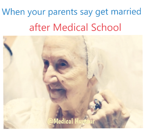 When Your Parents Say Get Married After Medical School