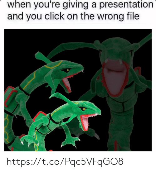 presentation: when you're giving a presentation  and you click on the wrong file https://t.co/Pqc5VFqGO8