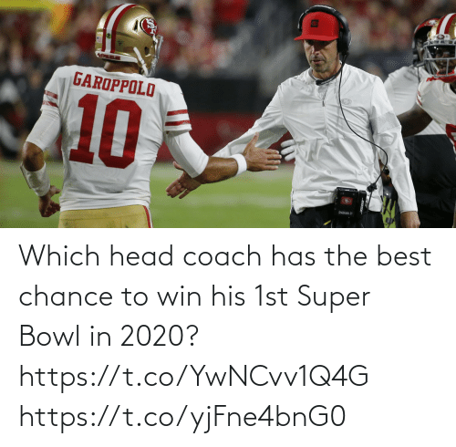 Super Bowl: Which head coach has the best chance to win his 1st Super Bowl in 2020? https://t.co/YwNCvv1Q4G https://t.co/yjFne4bnG0