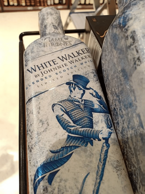 E D: WHITE WALKER  BY JOHNNIE WALKER  LENDED scOTCH WHI  LIM., E D EDITION