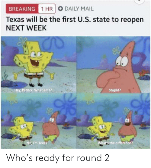 ready: Who's ready for round 2