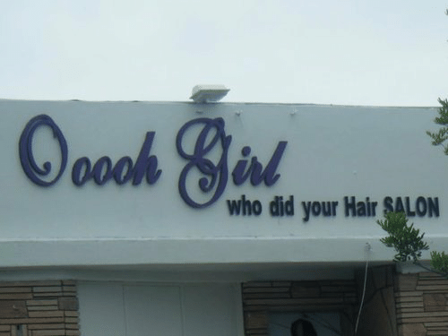 Hair, Salon, and Who: who did your Hair SALON
