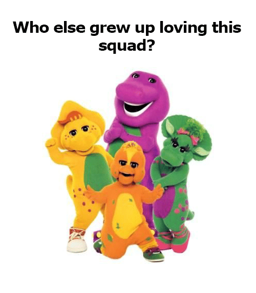 Memes, Squad, and 🤖: Who else grew up loving this  squad?