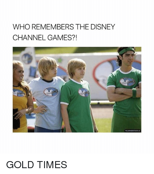 Disney Channels: WHO REMEMBERS THE DISNEY  CHANNEL GAMES GOLD TIMES