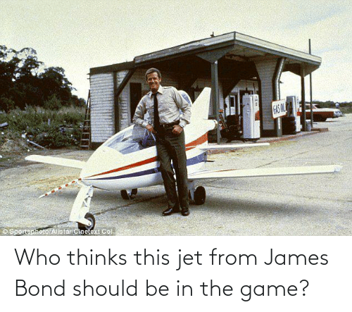 bond: Who thinks this jet from James Bond should be in the game?
