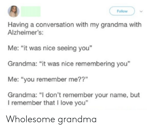 Grandma: Wholesome grandma