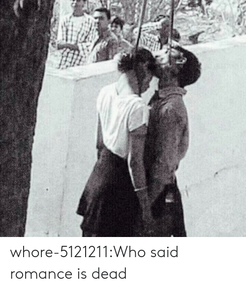 Tumblr, Blog, and Com: whore-5121211:Who said romance is dead