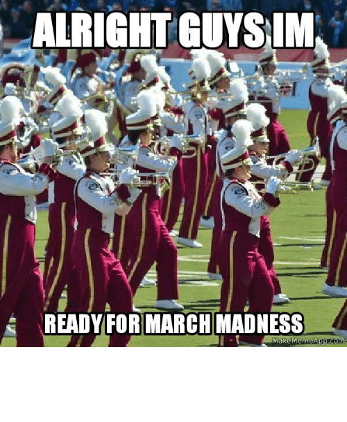 Marching: Why am I the only one marching?