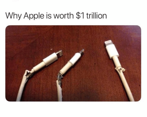 Apple, Why, and Trillion: Why Apple is worth $1 trillion