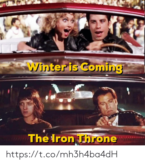 iron: Winter is Coming  The Iron Throne https://t.co/mh3h4ba4dH