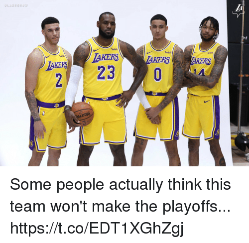 Memes, 🤖, and Team: wish  uish  AKER TAKERS  wish  wish  AKERS  2  ALDING Some people actually think this team won't make the playoffs... https://t.co/EDT1XGhZgj
