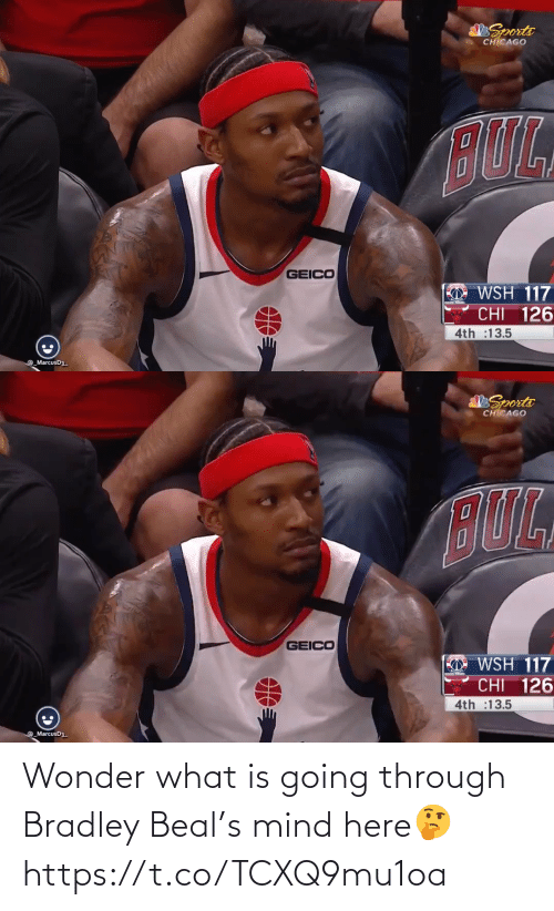 Wonder: Wonder what is going through Bradley Beal's mind here🤔 https://t.co/TCXQ9mu1oa