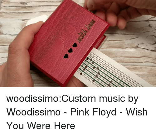 Pink Floyd: woodissimo:Custom music by Woodissimo - Pink Floyd - Wish You Were Here