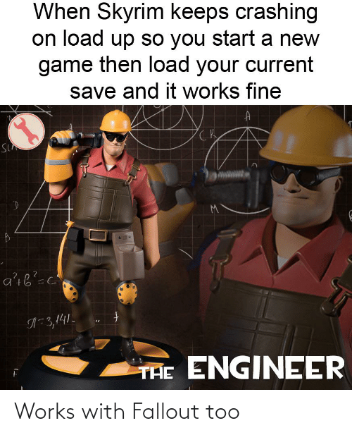 Fallout: Works with Fallout too
