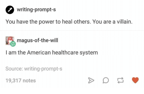 Writing-Prompt-S You Have the Power to Heal Others You Are a