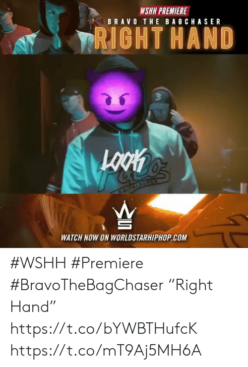 """Worldstarhiphop, Wshh, and Bravo: WSHH PREMIERE  BRAVO THE BAGCHASER  TRIGHT HAND  1001  WATCH NOW ON WORLDSTARHIPHOP.COM #WSHH #Premiere #BravoTheBagChaser """"Right Hand"""" https://t.co/bYWBTHufcK https://t.co/mT9Aj5MH6A"""