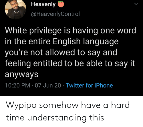 hard: Wypipo somehow have a hard time understanding this