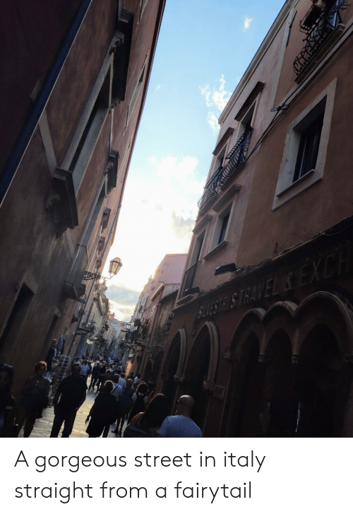 fairytail: XCH  BLESTRISTRAVEL&EK A gorgeous street in italy straight from a fairytail