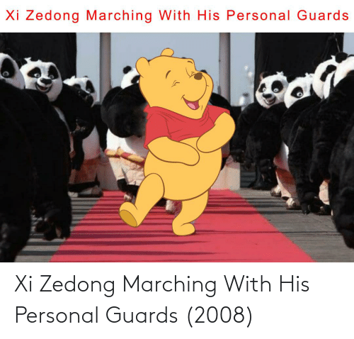 Marching: Xi Zedong Marching With His Personal Guards (2008)