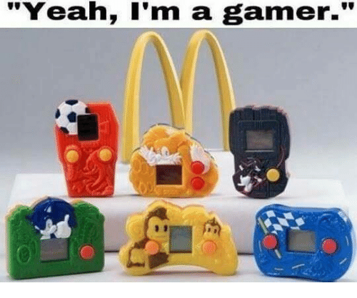 """Funny, Yeah, and Gamer: """"Yeah, I'm a gamer."""""""
