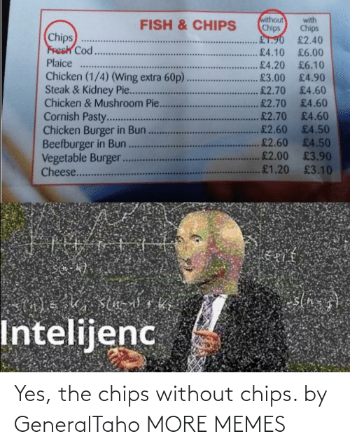 chips: Yes, the chips without chips. by GeneralTaho MORE MEMES