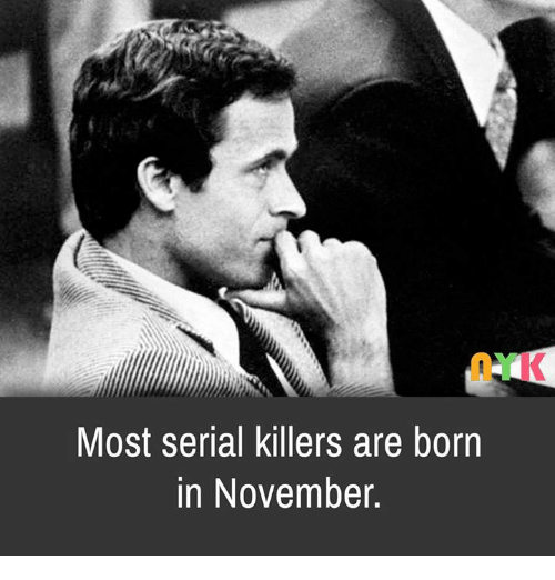 are serial killers born or created The behavioral geneticists and neurologists have established that serial killers are primarily born, not made a brutal childhood can increase the chance that a child born with the psychological and neurological indications that predispose one to become a serial killer as an adult will indeed become a serial killer as an adult.