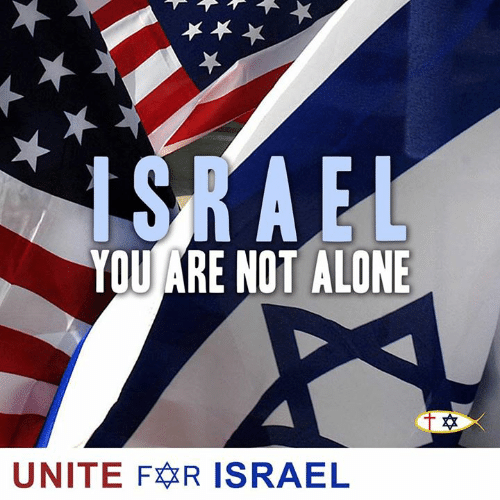 unite: YOU ARE NOT ALONE  UNITE FR ISRAEL