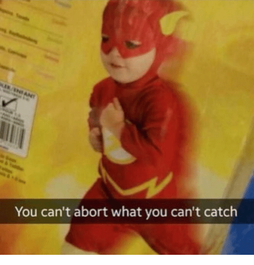 You, What, and  Catch: You can't abort what you can't catch