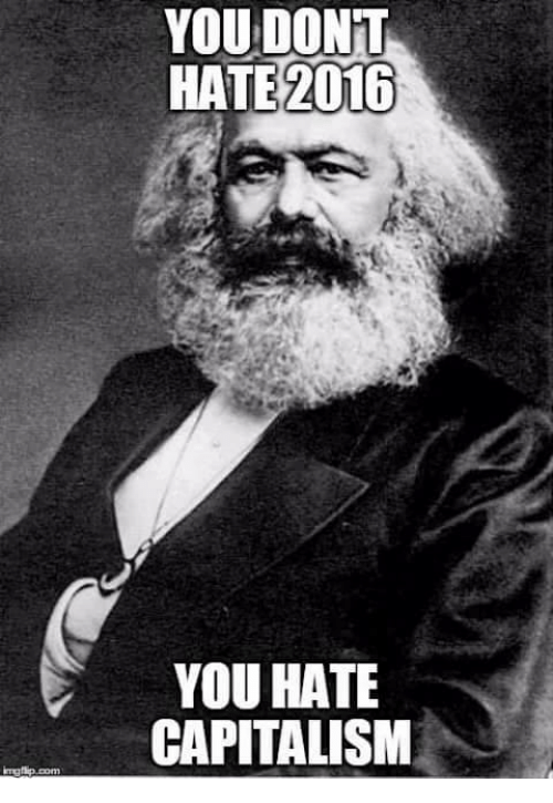 Greek (language): YOU DONT  HATE 2016  YOU HATE  CAPITALISM