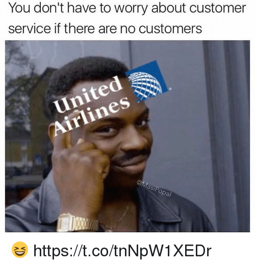 Funny, Gsp, and Service: You don't have to worry about customer  service if there are no customers  GSP  pa/ 😆 https://t.co/tnNpW1XEDr