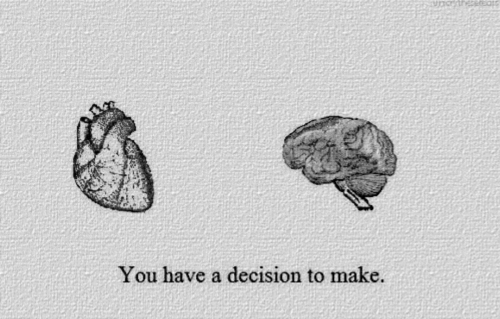 Make, You, and Decision: You have a decision to make