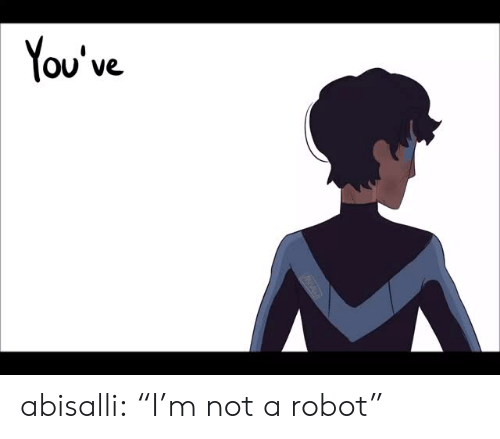 "Target, Tumblr, and Blog: You've abisalli:  ""I'm not a robot"""