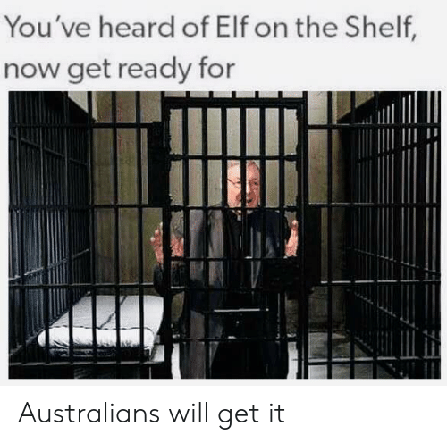 Elf, Elf on the Shelf, and Funny: You've heard of Elf on the Shelf  now get ready for Australians will get it