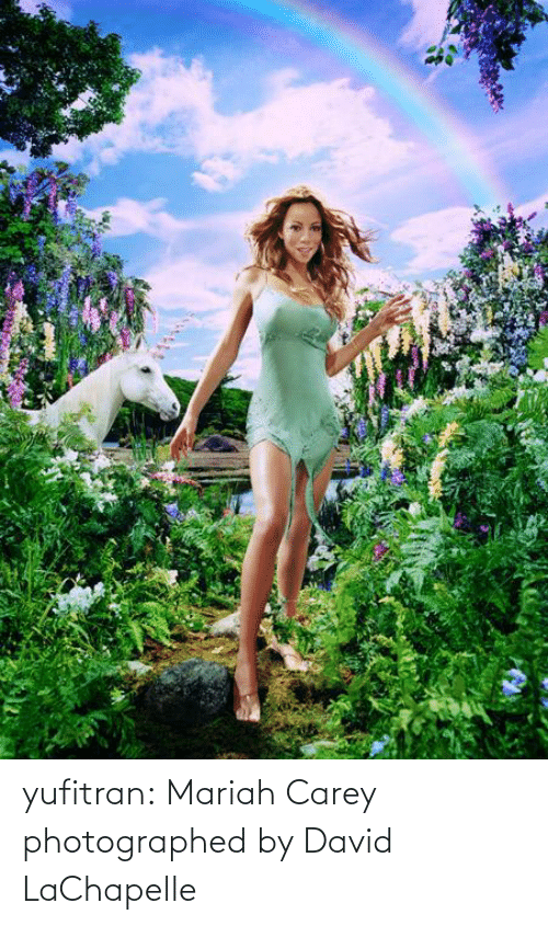 Carey: yufitran:  Mariah Carey photographed by David LaChapelle