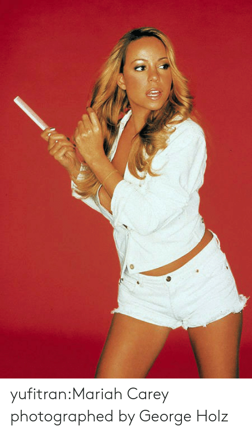 Carey: yufitran:Mariah Carey photographed by George Holz