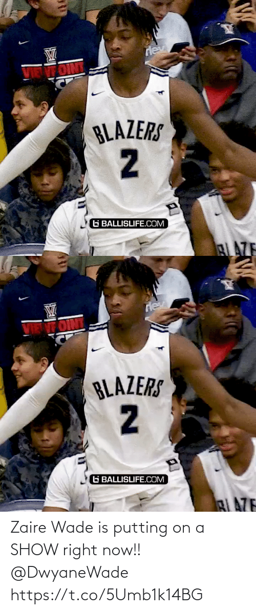 putting: Zaire Wade is putting on a SHOW right now!! @DwyaneWade https://t.co/5Umb1k14BG