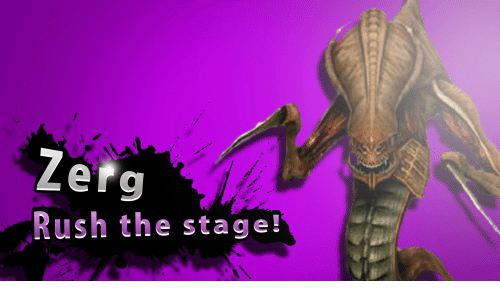 zerg rush: Zerg  Rush the stage