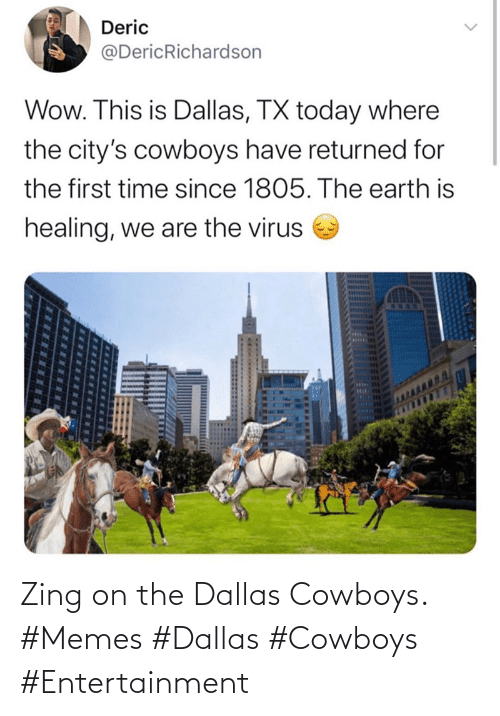 Dallas Cowboys: Zing on the Dallas Cowboys. #Memes #Dallas #Cowboys #Entertainment